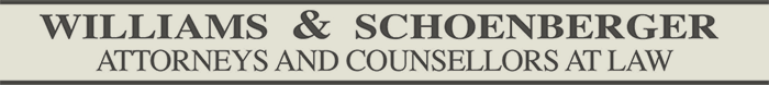Williams & Schoenberger logo